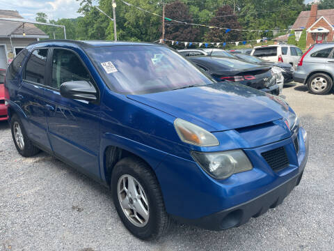 2004 Pontiac Aztek for sale at Trocci's Auto Sales in West Pittsburg PA