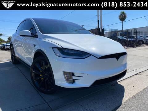 2016 Tesla Model X for sale at Loyal Signature Motors Inc. in Van Nuys CA