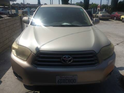 2008 Toyota Highlander for sale at AJ'S Auto Sale Inc in San Bernardino CA
