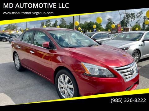 2014 Nissan Sentra for sale at MD AUTOMOTIVE LLC in Slidell LA