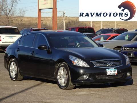2015 Infiniti Q40 for sale at RAVMOTORS in Burnsville MN