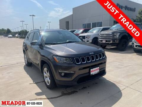 2018 Jeep Compass for sale at Meador Dodge Chrysler Jeep RAM in Fort Worth TX