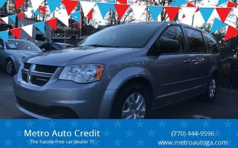 2016 Dodge Grand Caravan for sale at Used Imports Auto - Metro Auto Credit in Smyrna GA