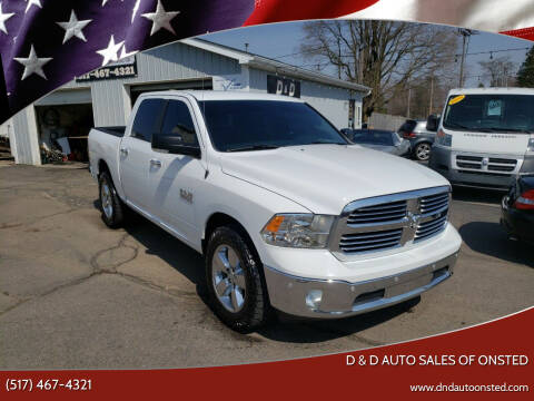 2016 RAM Ram Pickup 1500 for sale at D & D Auto Sales Of Onsted in Onsted   Brooklyn MI
