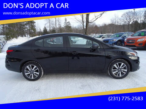 2020 Nissan Versa for sale at DON'S ADOPT A CAR in Cadillac MI