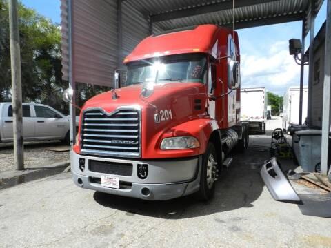 2016 Mack CXU613 CONDO DOUBLE BUNK for sale at DEBARY TRUCK SALES in Sanford FL