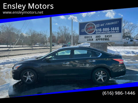2015 Nissan Altima for sale at Ensley Motors in Allendale MI