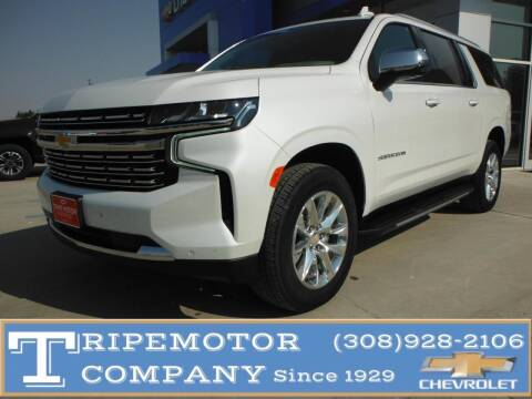2021 Chevrolet Suburban for sale at Tripe Motor Company in Alma NE