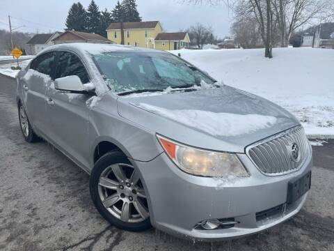 2010 Buick LaCrosse for sale at Trocci's Auto Sales in West Pittsburg PA