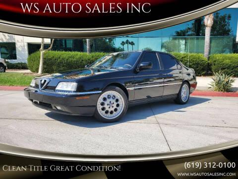 1994 Alfa Romeo 164 for sale at WS AUTO SALES INC in El Cajon CA