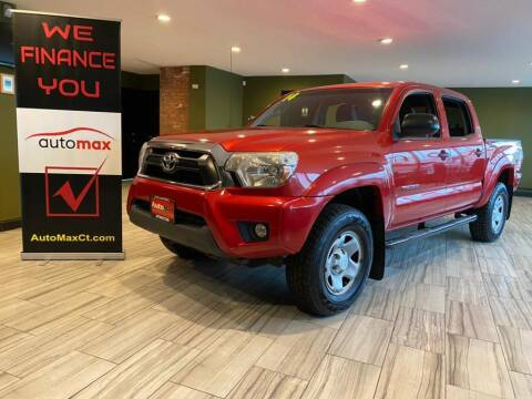 2014 Toyota Tacoma for sale at AutoMax in West Hartford CT