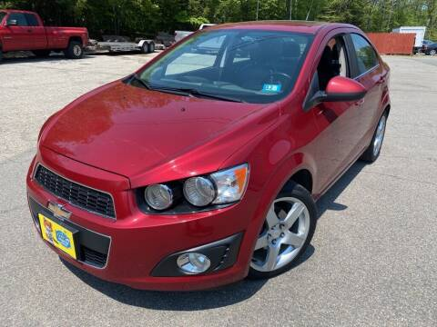 2014 Chevrolet Sonic for sale at Granite Auto Sales in Spofford NH