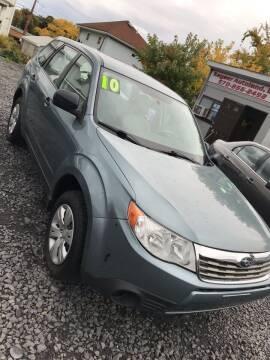 2010 Subaru Forester for sale at Keyser Autoland llc in Scranton PA