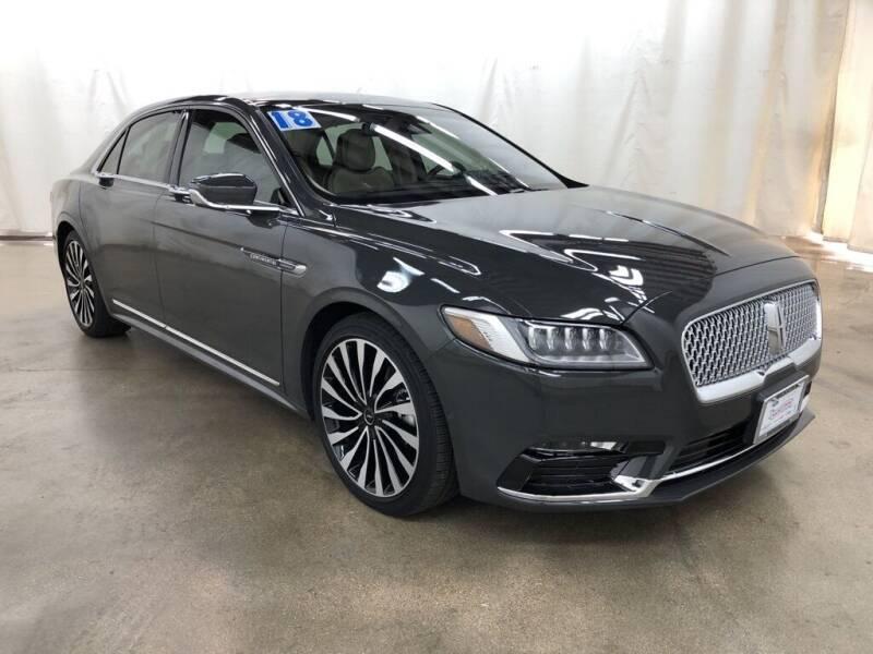 2018 Lincoln Continental for sale in Barrington, IL