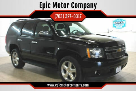 2012 Chevrolet Tahoe for sale at Epic Motor Company in Chantilly VA