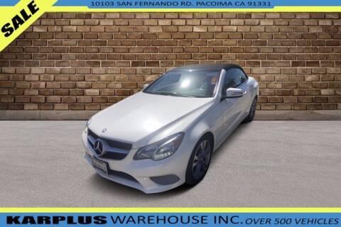 2014 Mercedes-Benz E-Class for sale at Karplus Warehouse in Pacoima CA