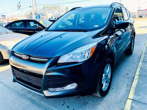 2016 Ford Escape for sale at Auto Space LLC in Norfolk VA