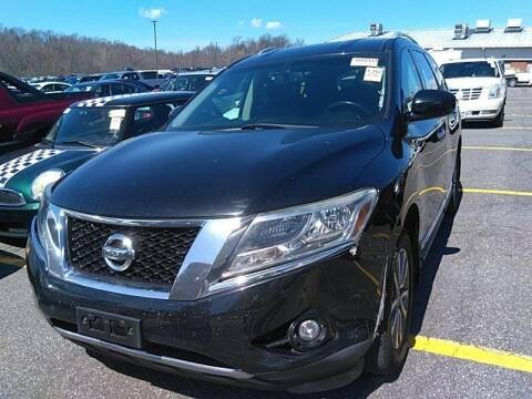 2013 Nissan Pathfinder for sale at Cj king of car loans/JJ's Best Auto Sales in Troy MI