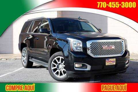 2017 GMC Yukon for sale at El Compadre Trucks in Doraville GA