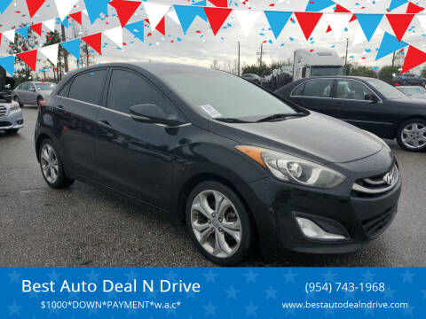 2013 Hyundai Elantra GT for sale at Best Auto Deal N Drive in Hollywood FL