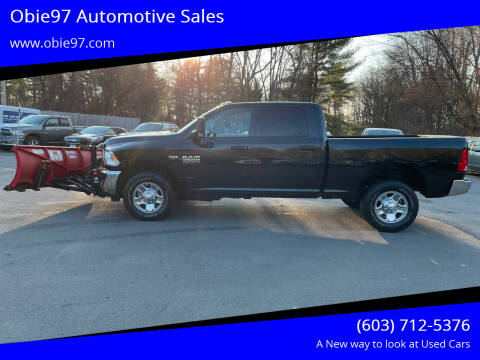 2018 RAM Ram Pickup 3500 for sale at Obie97 Automotive Sales in Londonderry NH