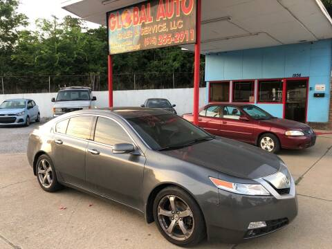 2009 Acura TL for sale at Global Auto Sales and Service in Nashville TN