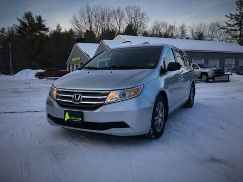2011 Honda Odyssey for sale at 207 Motors in Gorham ME