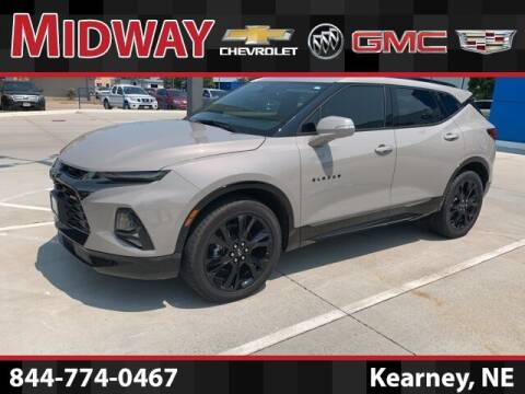 2021 Chevrolet Blazer for sale at Midway Auto Outlet in Kearney NE