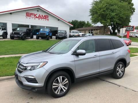 2018 Honda Pilot for sale at Efkamp Auto Sales LLC in Des Moines IA