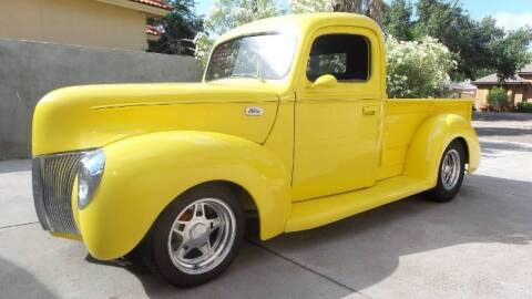 1940 Ford F-100 for sale at Classic Car Deals in Cadillac MI
