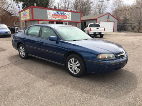 2005 Chevrolet Impala for sale at FUTURES FINANCING INC. in Denver CO