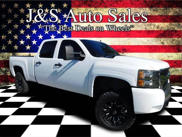 2009 Chevrolet Silverado 2500HD for sale at J & S Auto Sales in Clarksville TN