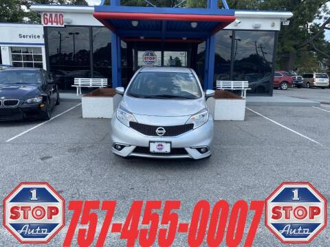 2015 Nissan Versa Note for sale at 1 Stop Auto in Norfolk VA