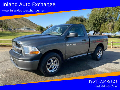 2011 RAM Ram Pickup 1500 for sale at Inland Auto Exchange in Norco CA