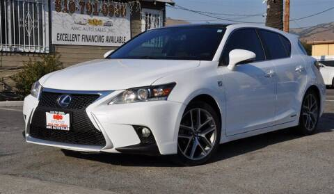 2015 Lexus CT 200h for sale at AMC Auto Sales, Inc. in Fremont CA