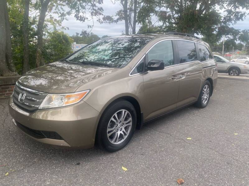 2012 Honda Odyssey for sale at ANDONI AUTO SALES in Worcester MA