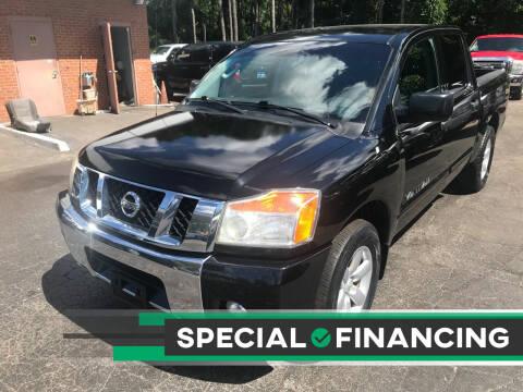 2010 Nissan Titan for sale at Magic Motors Inc. in Snellville GA