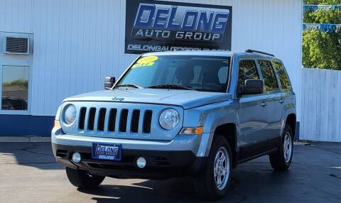 2014 Jeep Patriot for sale at DeLong Auto Group in Tipton IN