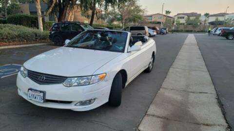 2002 Toyota Camry Solara for sale at Classic Car Deals in Cadillac MI