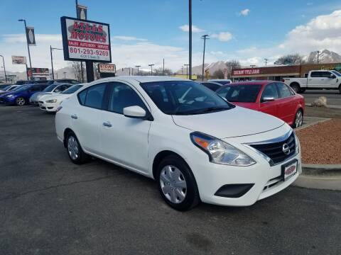 2016 Nissan Versa for sale at ATLAS MOTORS INC in Salt Lake City UT