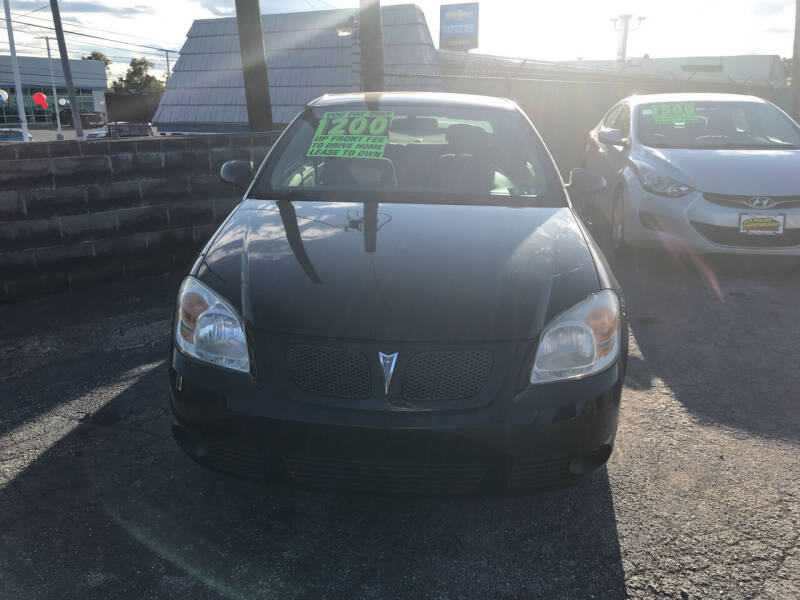 2007 Pontiac G5 for sale at Credit Connection Auto Sales Inc. HARRISBURG in Harrisburg PA