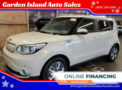 2017 Kia Soul EV for sale at Garden Island Auto Sales in Lihue HI