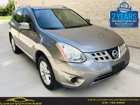 2013 Nissan Rogue for sale at LUXURY UNLIMITED AUTO SALES in San Antonio TX