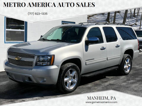 2010 Chevrolet Suburban for sale at METRO AMERICA AUTO SALES of Manheim in Manheim PA