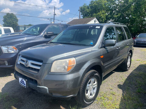 2008 Honda Pilot for sale at Charles and Son Auto Sales in Totowa NJ