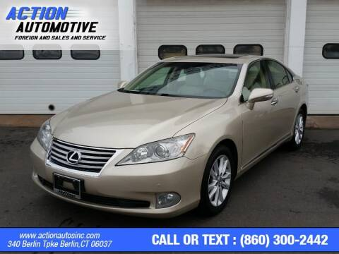 2012 Lexus ES 350 for sale at Action Automotive Inc in Berlin CT