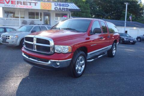 2003 Dodge Ram Pickup 1500 for sale at Leavitt Auto Sales and Used Car City in Everett WA
