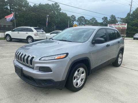 2015 Jeep Cherokee for sale at Auto Land Of Texas in Cypress TX