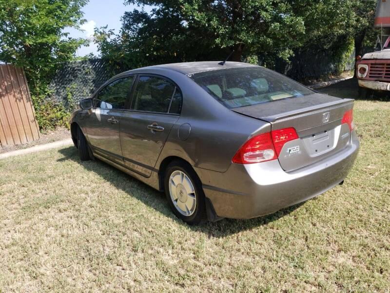 2008 Honda Civic for sale at El Jasho Motors in Grand Prairie TX