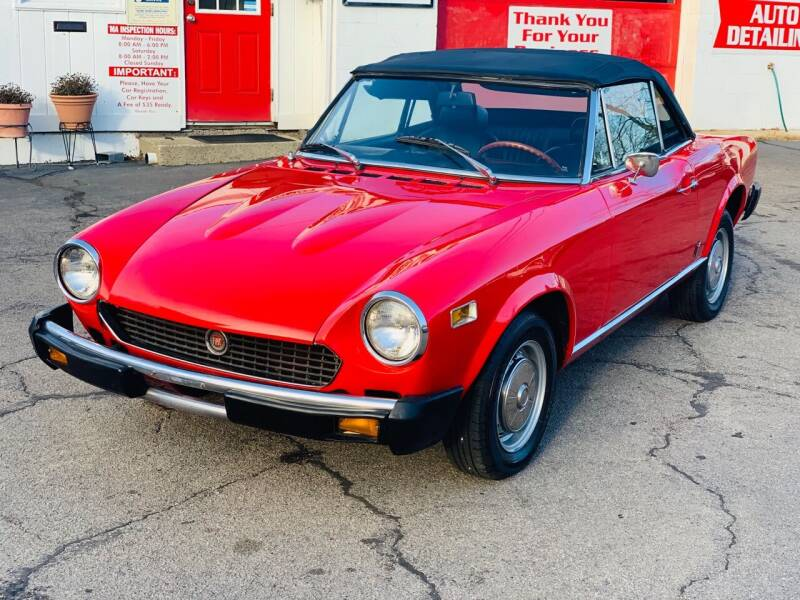 1976 FIAT 124 Spider for sale at Milford Automall Sales and Service in Bellingham MA